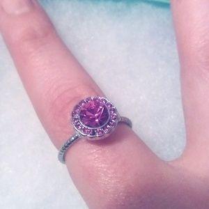 Kate Spade Pink Sparkle Ring
